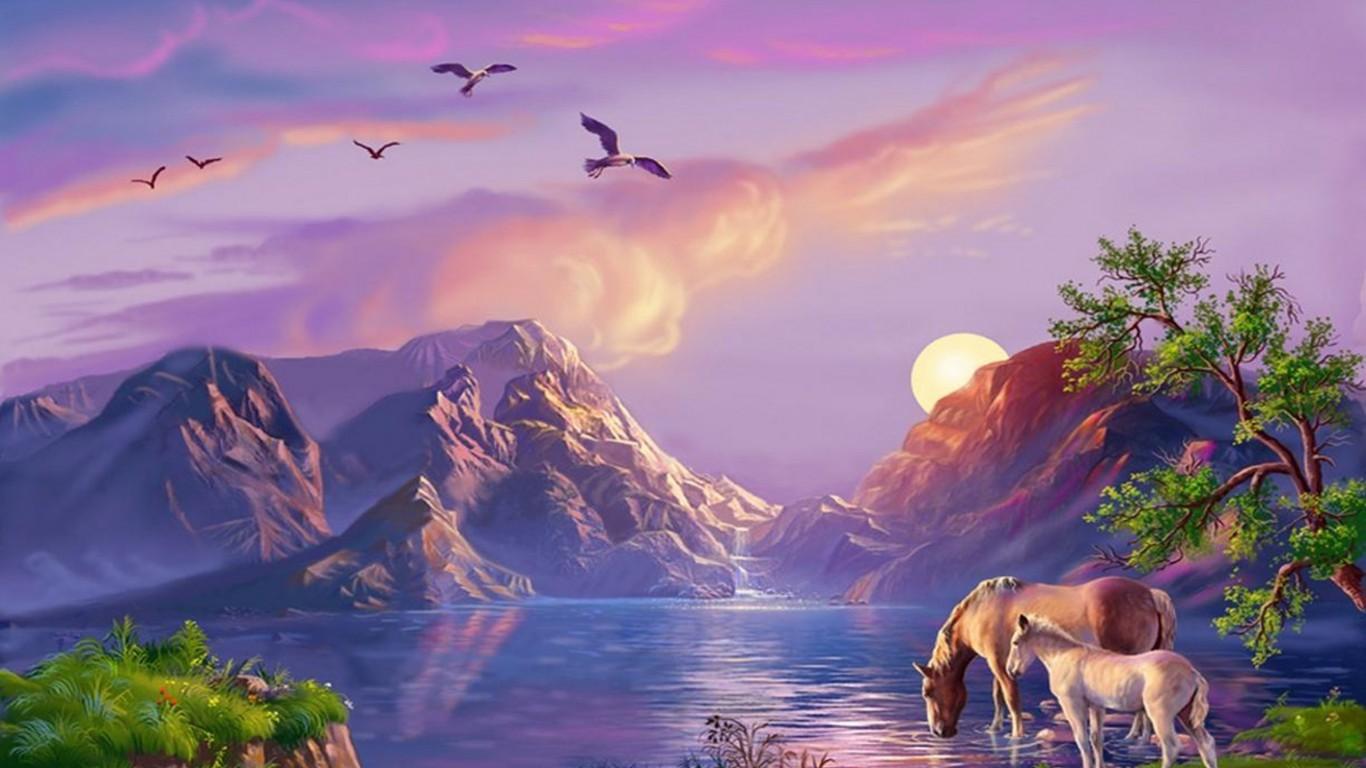 картинки фэнтези животные и природа быть самым очаровательным