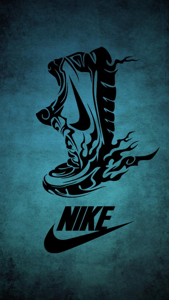 Running Nike iPhone 5 Wallpaper 640x1136 640x1136