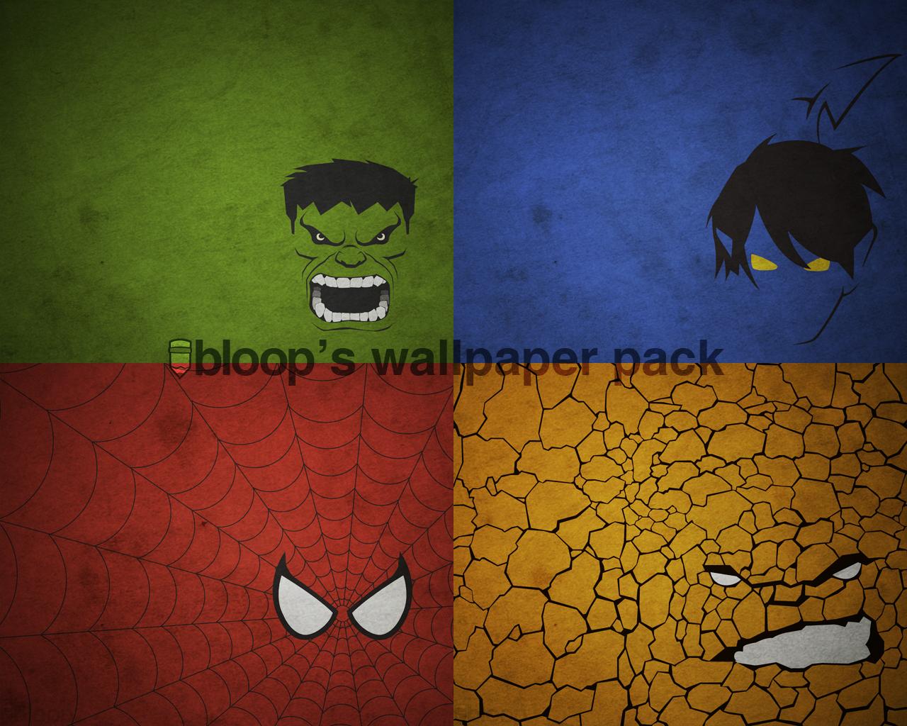 Bloops Superhero Wallpaper by blo0p 1280x1024