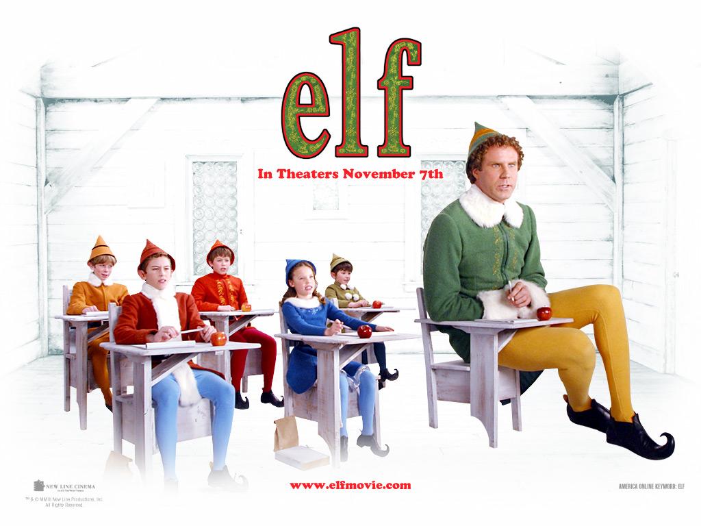 Elf movie wallpaper wallpapersafari for Wallpaper home film