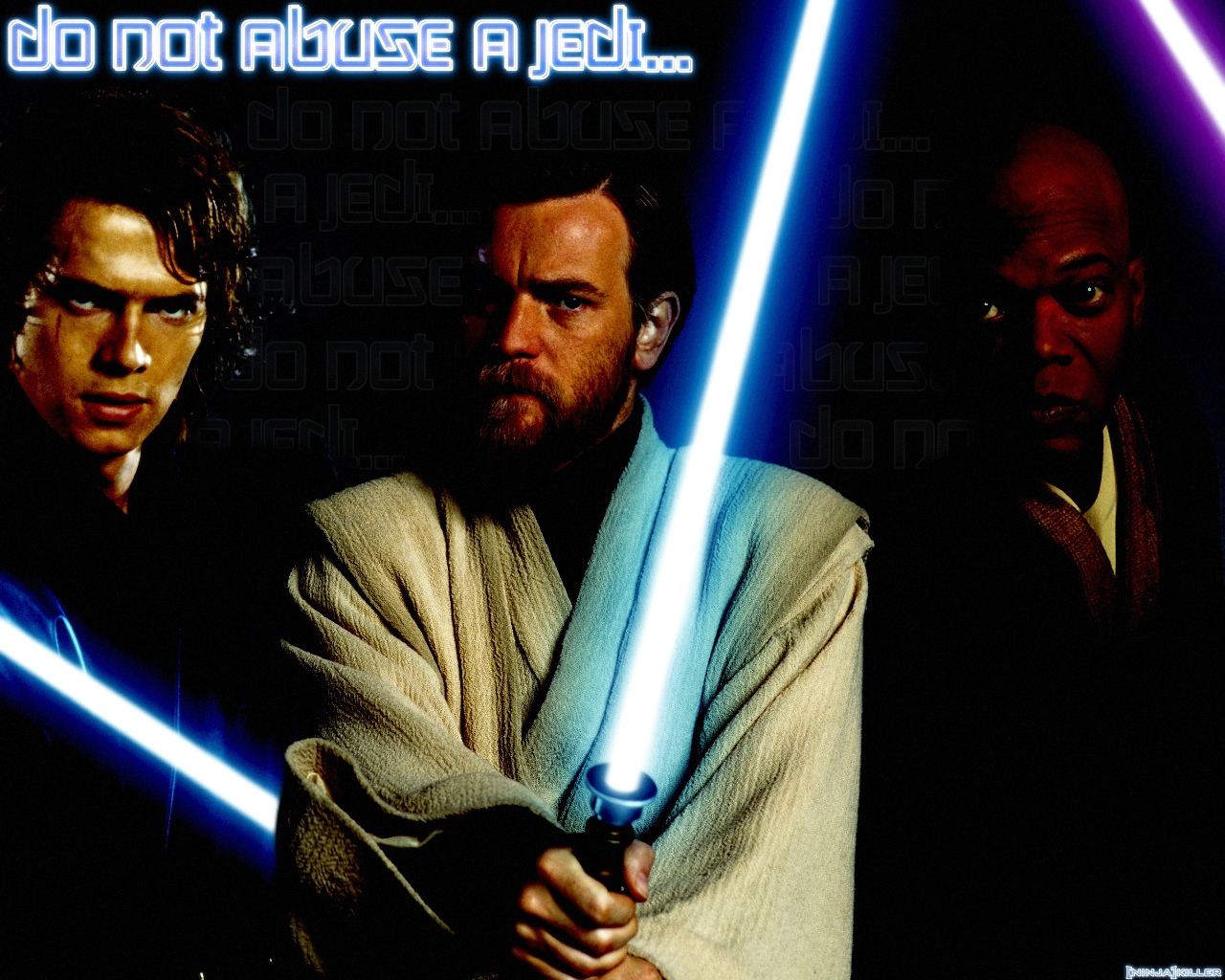 AnakinObi Wan Kenobi and Mace Windu   Obi Wan Kenobi Photo 1280x1024