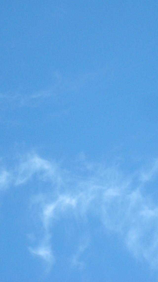 640x1136 Baby Blue Sky Iphone 5 wallpaper 640x1136