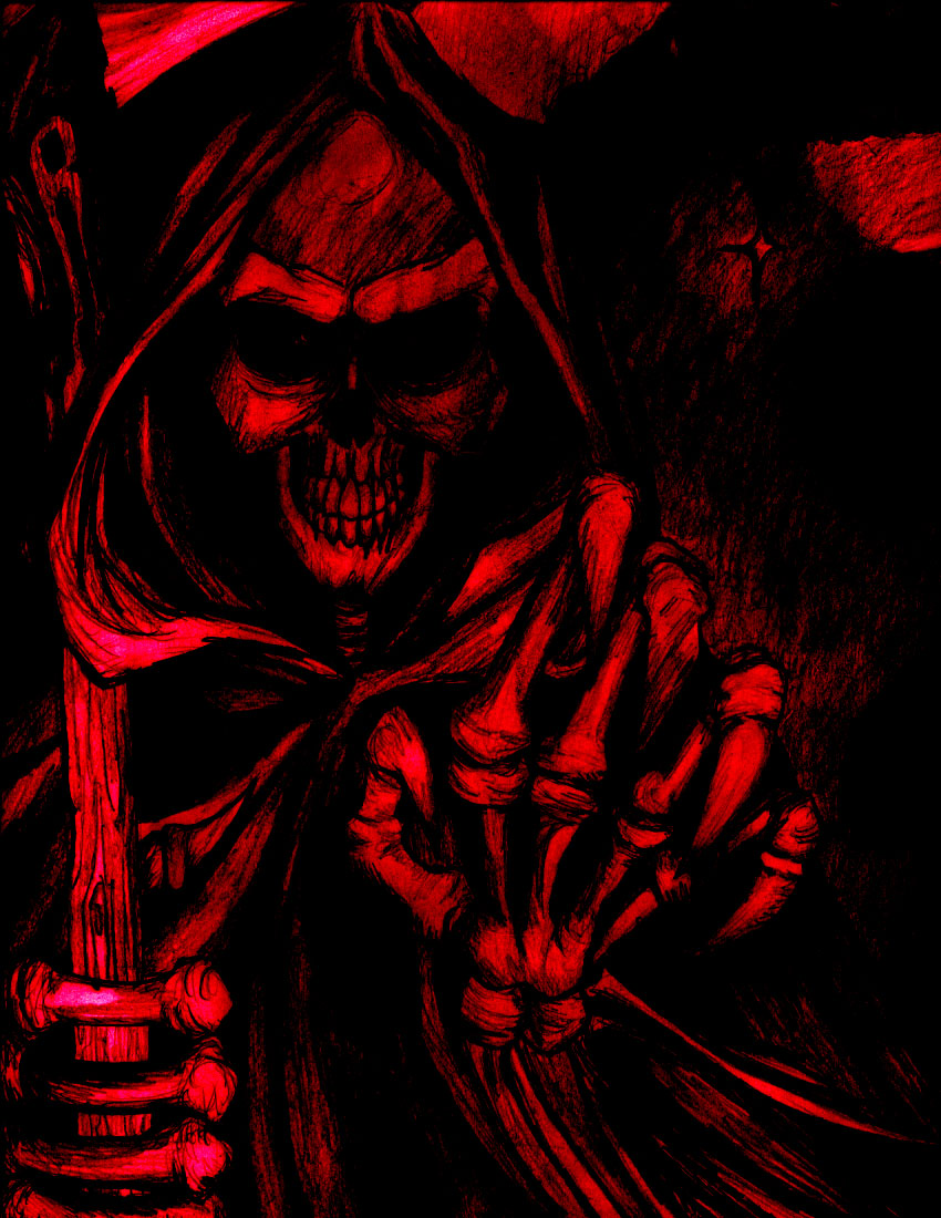 43 Badass Grim Reaper Wallpaper On Wallpapersafari
