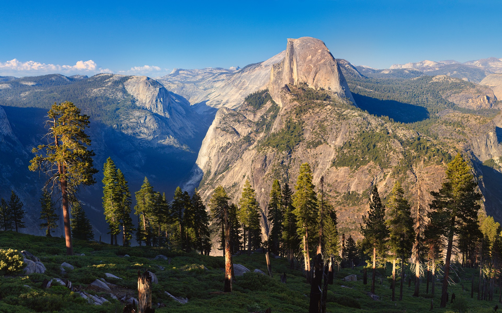 nature glacier point yosemite national park HD Wallpaper of Nature 1920x1200