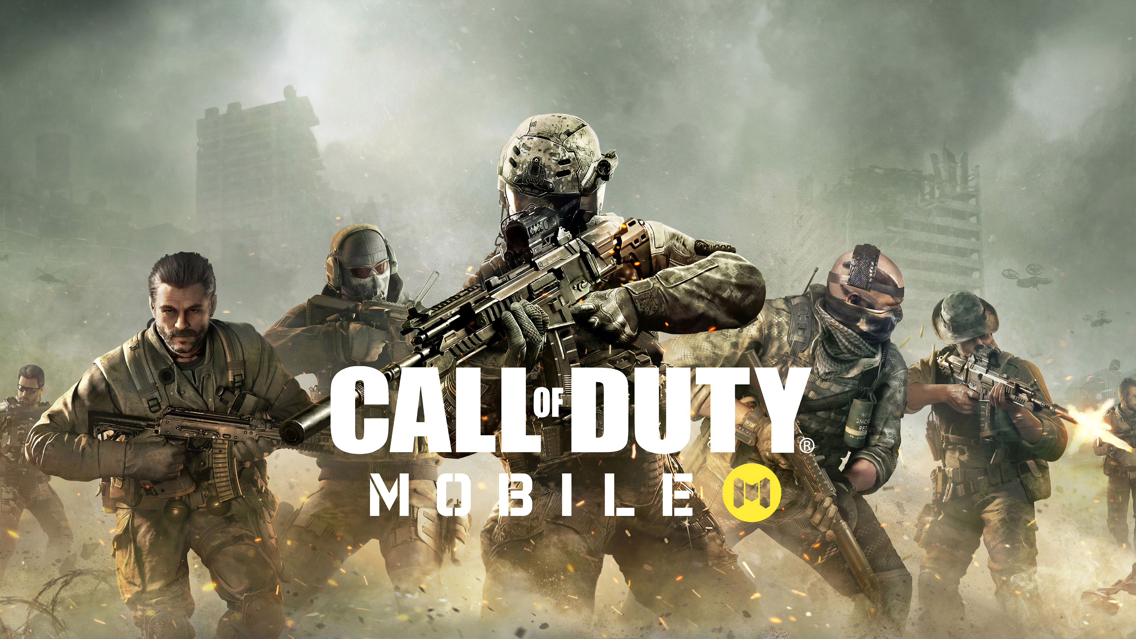 Poster of the computer game Call Of Duty Mobile 2019 for android 3840x2160