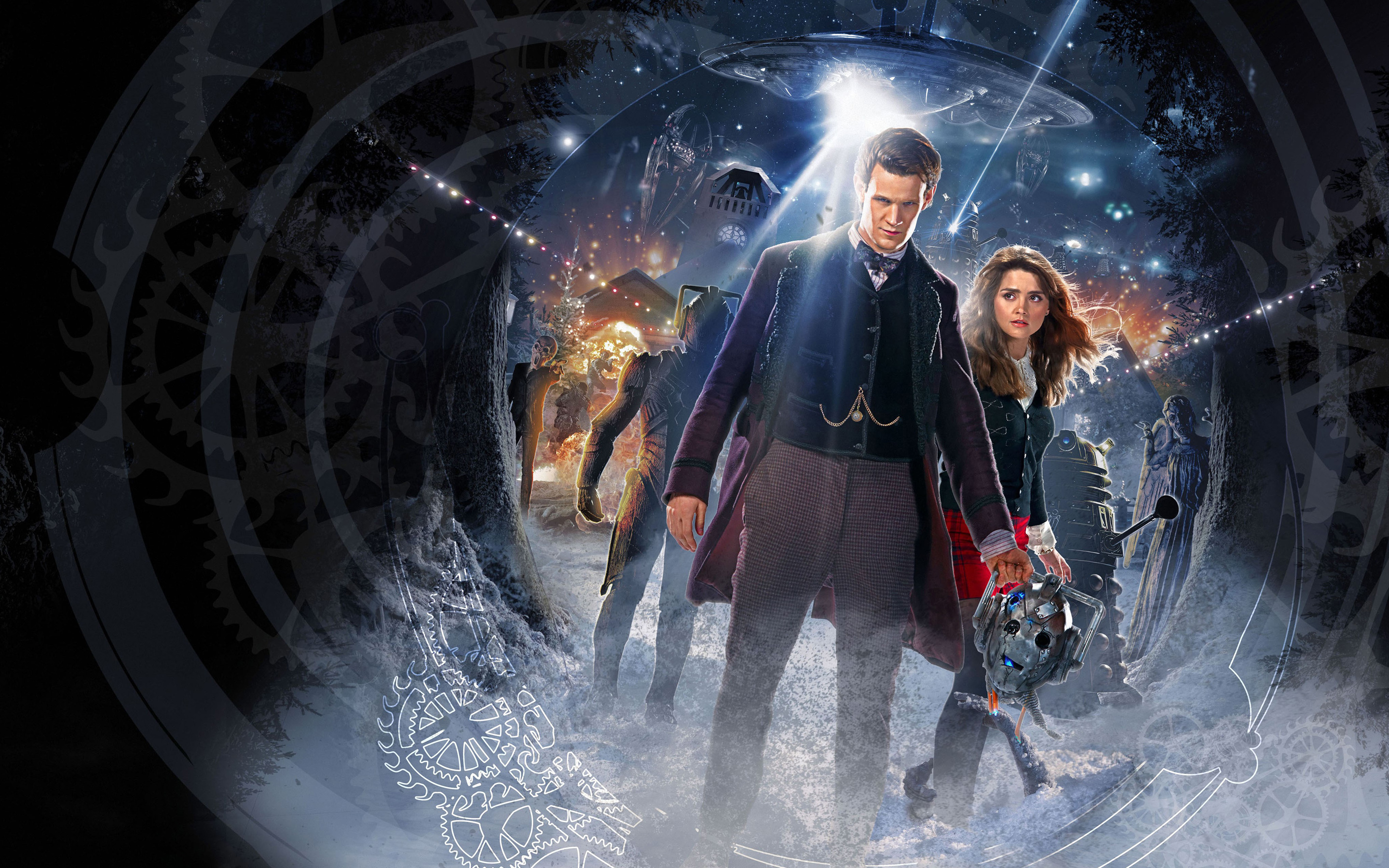 Doctor Who Time of the Doctor Wallpapers HD Wallpapers 2880x1800