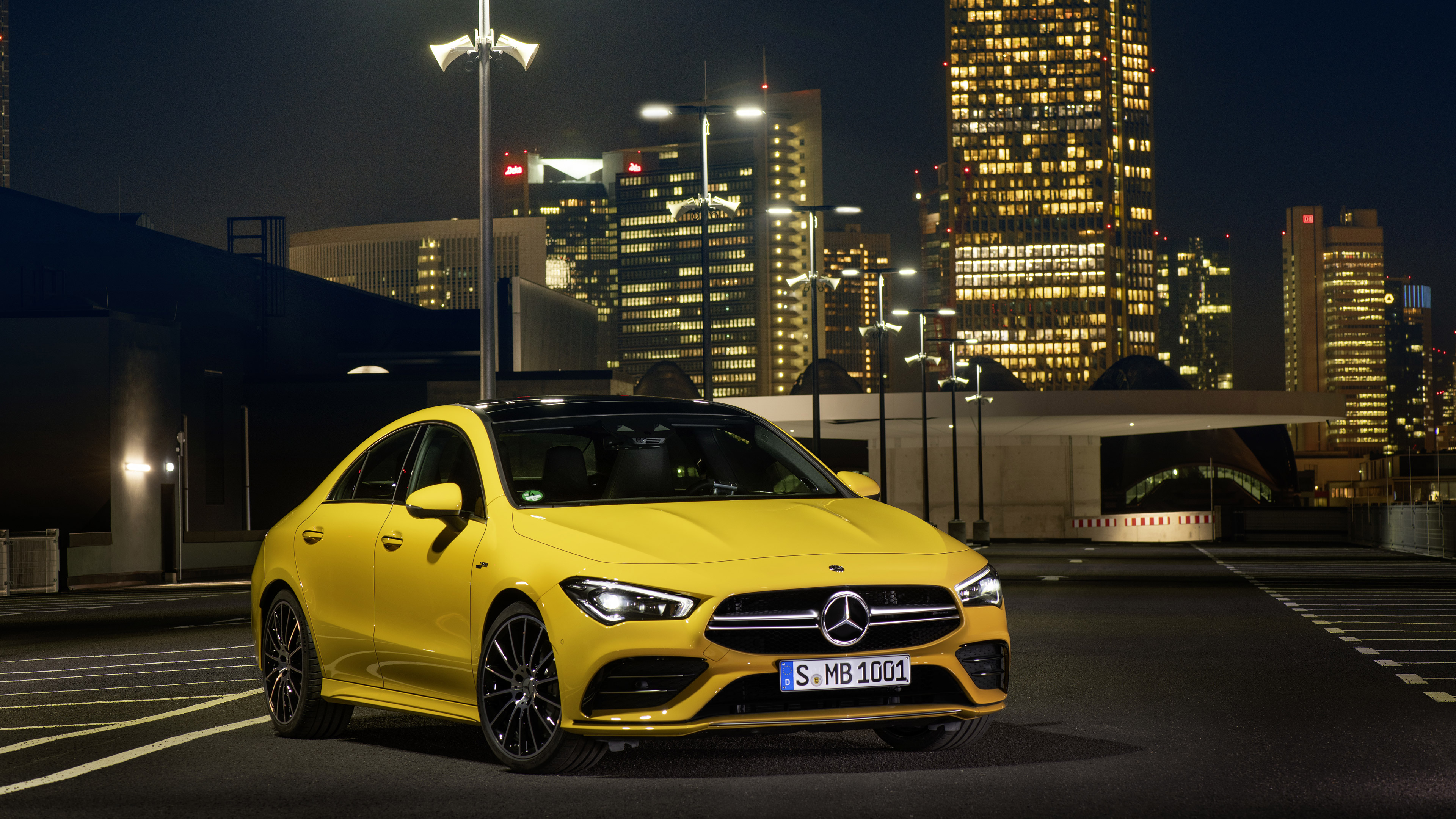 2020 Mercedes AMG CLA 35 4k Ultra HD Wallpaper Background Image 3840x2160