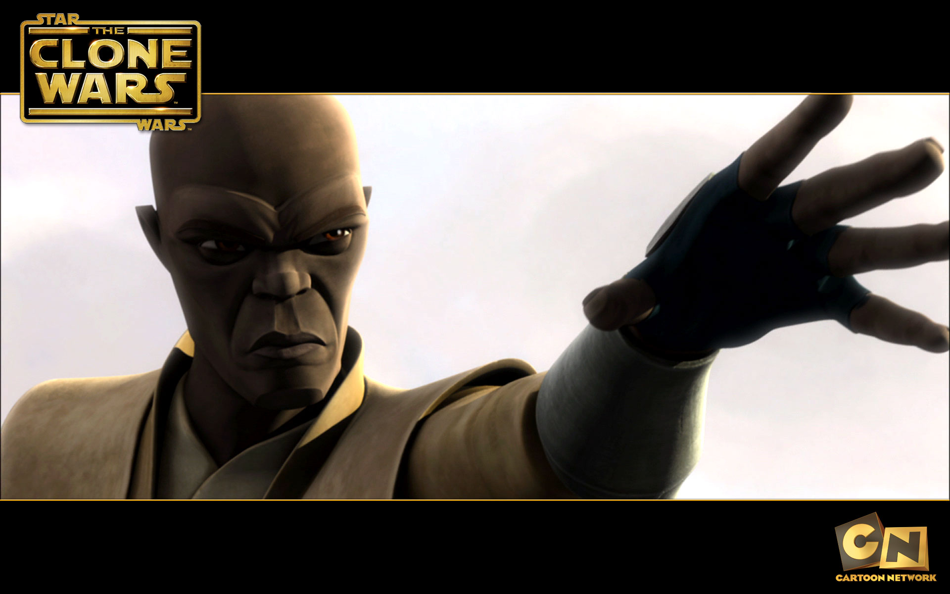 Mace Windu from The Clone Wars Desktop Wallpaper 1920x1200