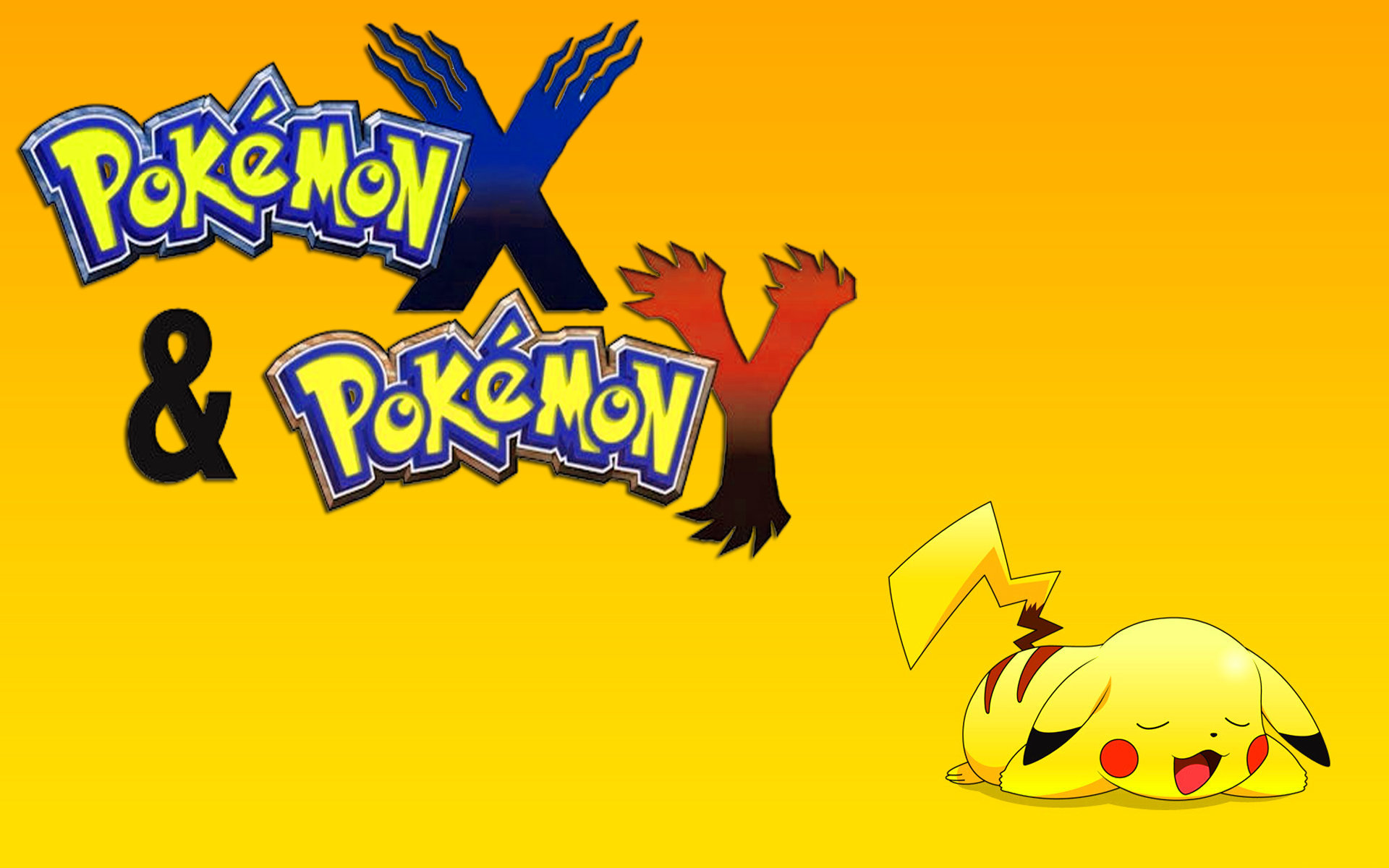 Pokemon X And Y Dektop Wallpapers 1920x1200