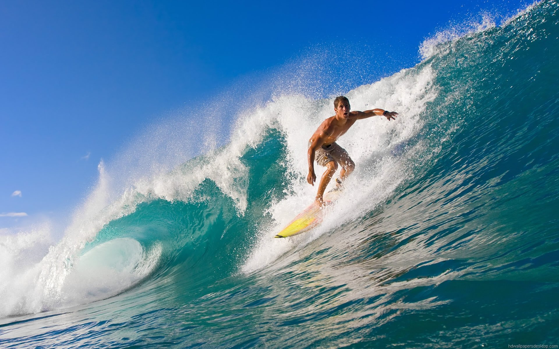 Surfing Wallpaper HD Widescreen Desktop Wallpaper 1920x1200 1920x1200