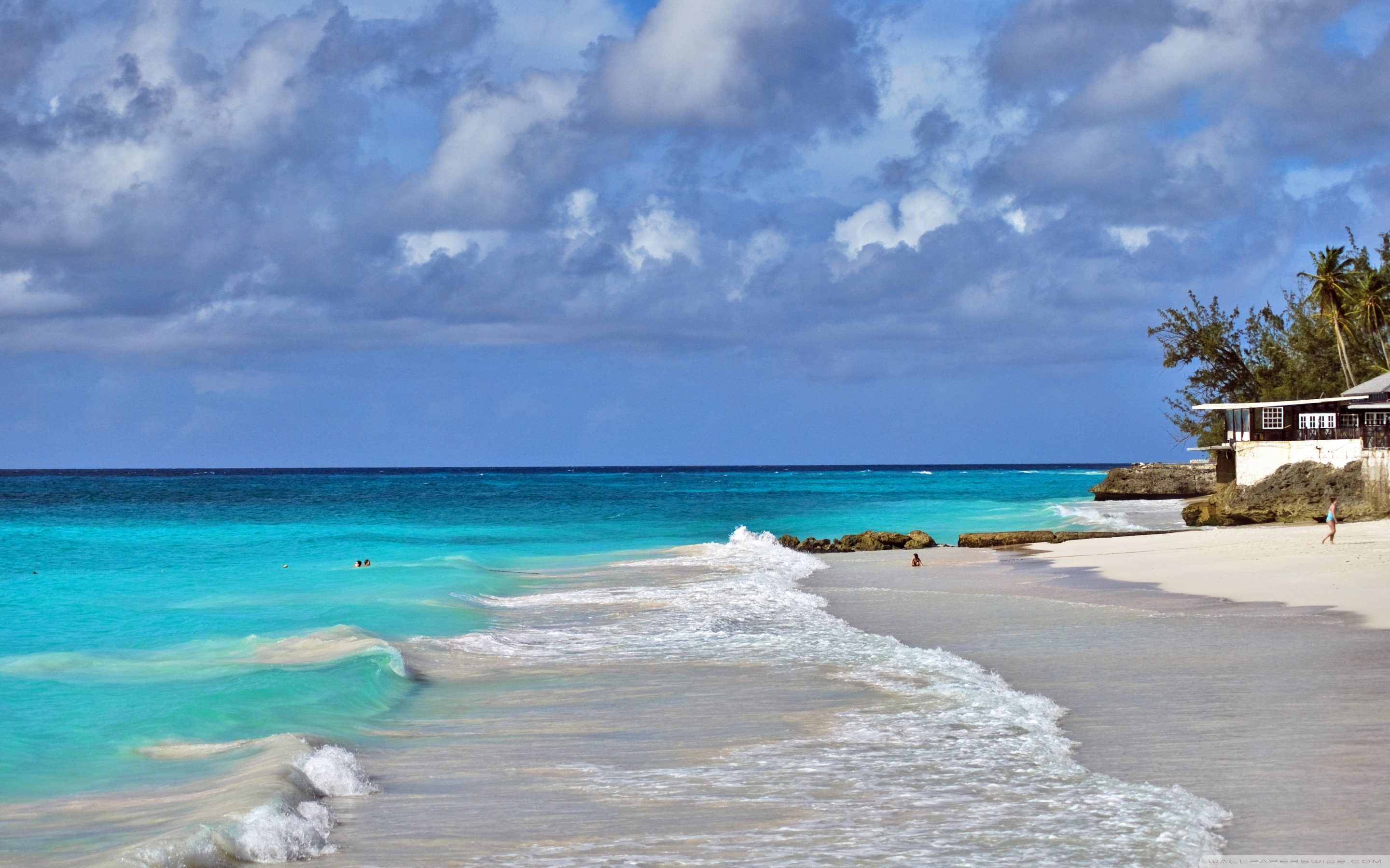 Barbados Beach 4K HD Desktop Wallpaper for 4K Ultra HD TV 2880x1800