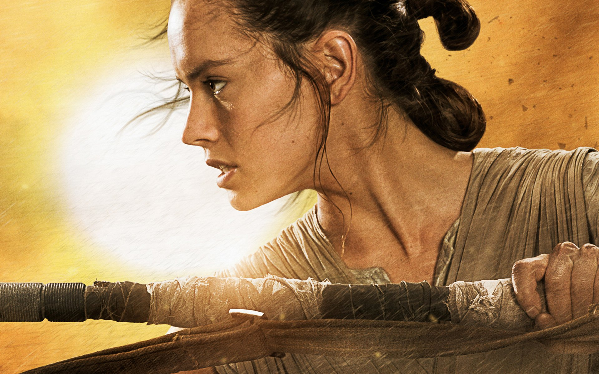Star Wars The Force Awakens Rey Wallpapers HD Wallpapers 1920x1200