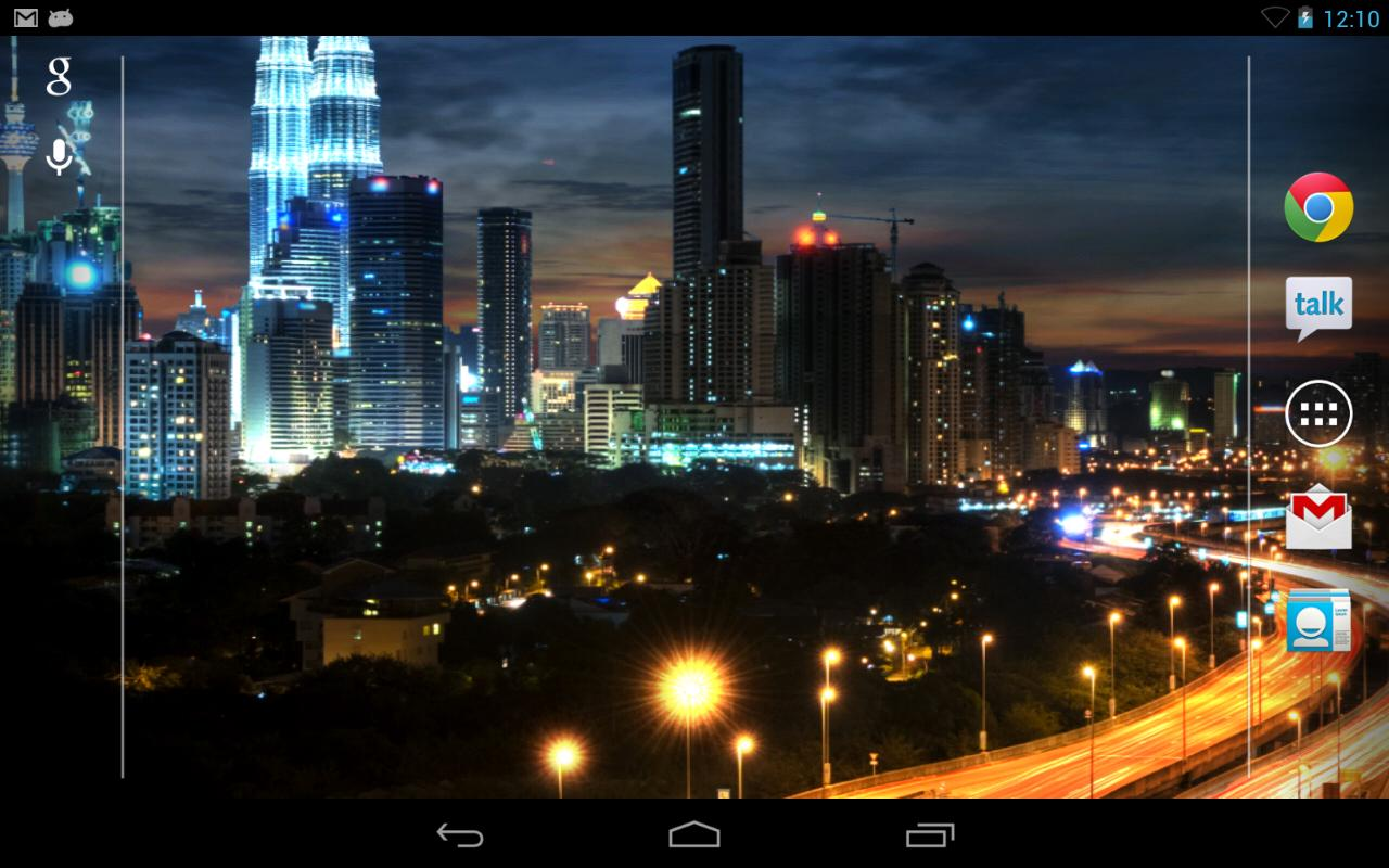 City at Night Live Wallpaper   Android Apps on Google Play 1280x800
