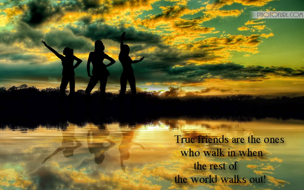 Friendship Wallpapers With Quotes Wallpapers 1024x640