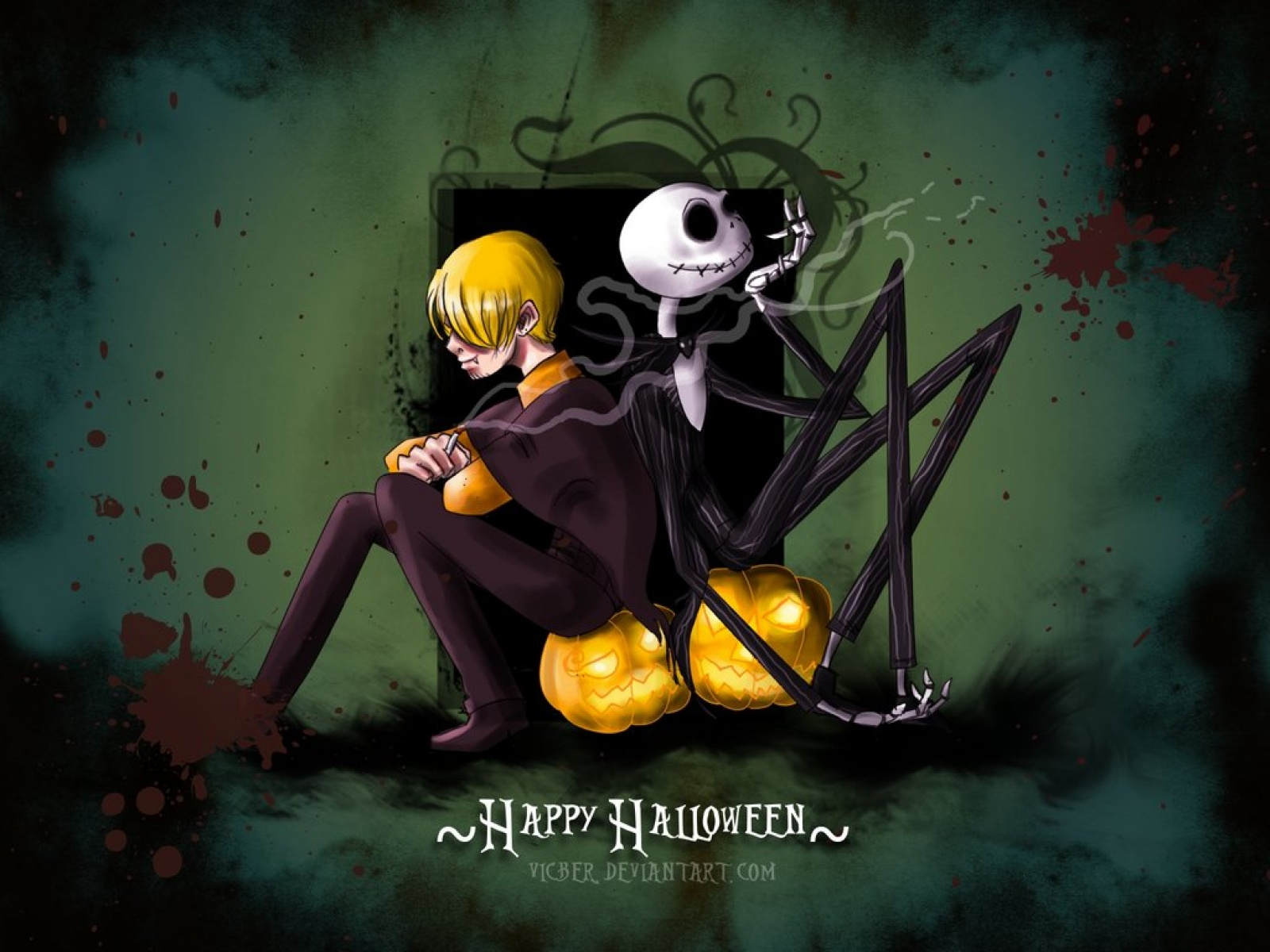 Halloween Happy Wallpapers   7457 1600x1200