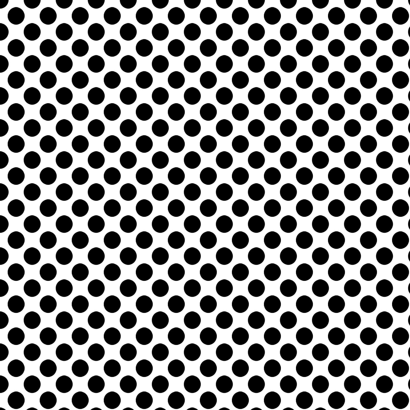 ... STaMPS**: Free Digital Scrapbook Paper - White w/ Black Polka Dots