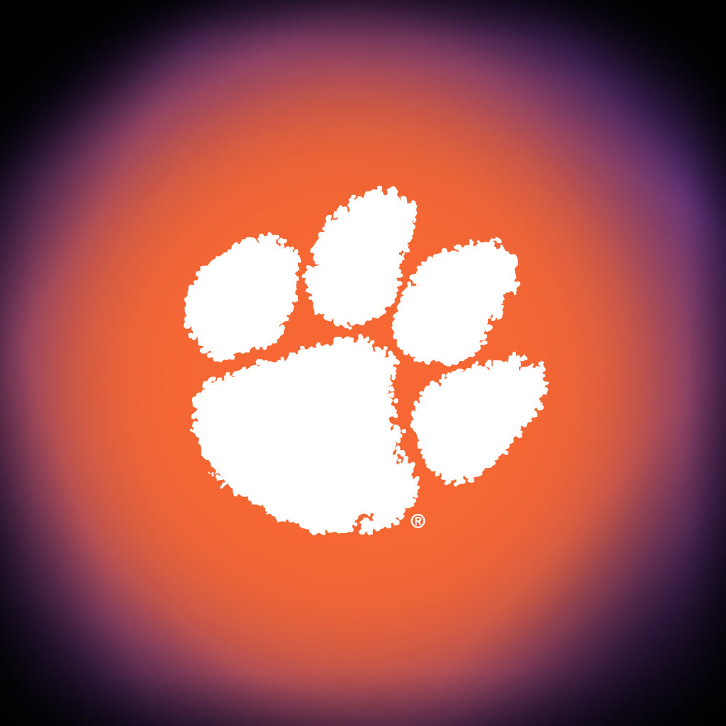 Clemson University Solid Orange 1024x1024