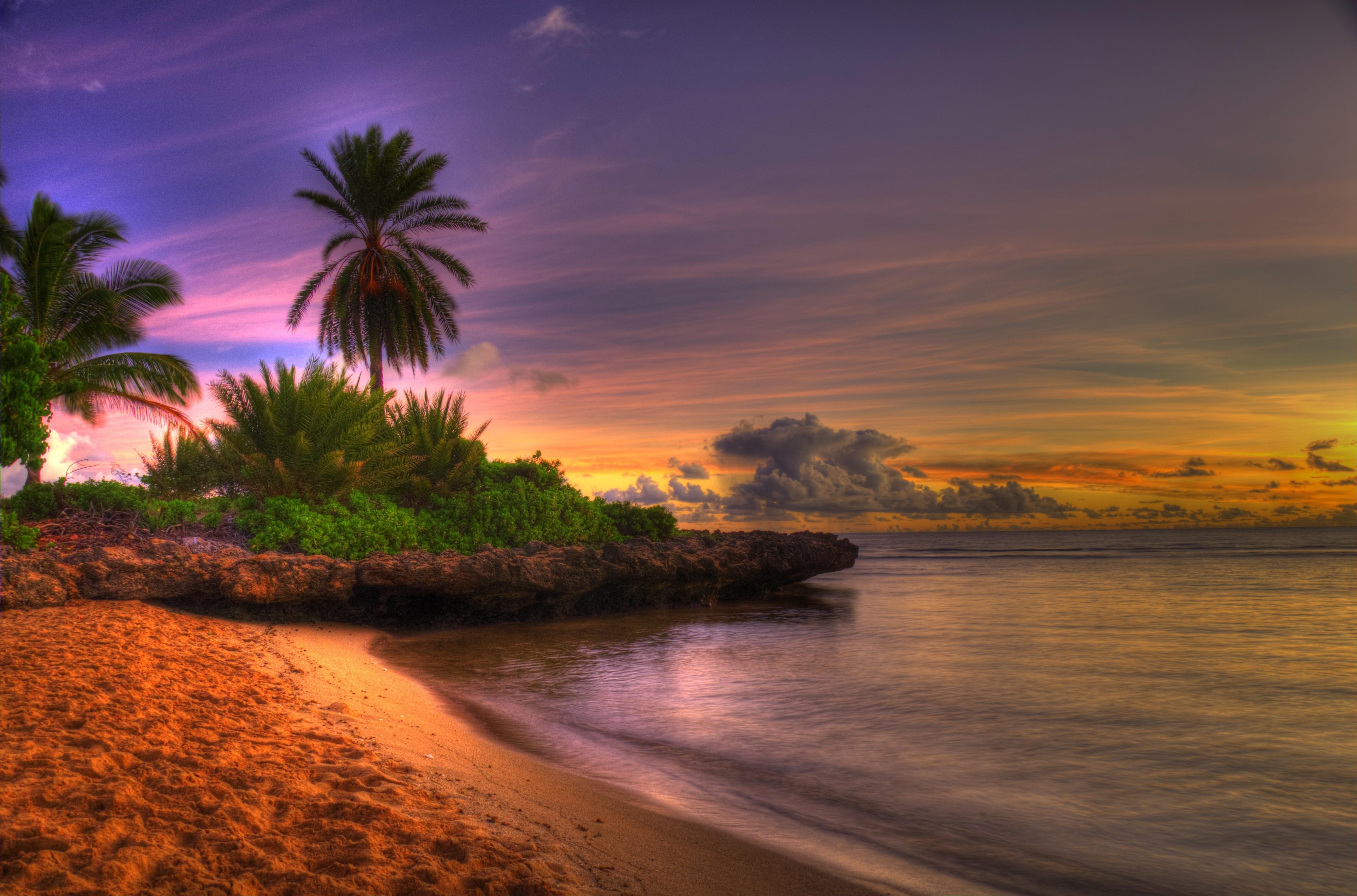 Beach Sunset Hd Wallpaper | Wallpaper List