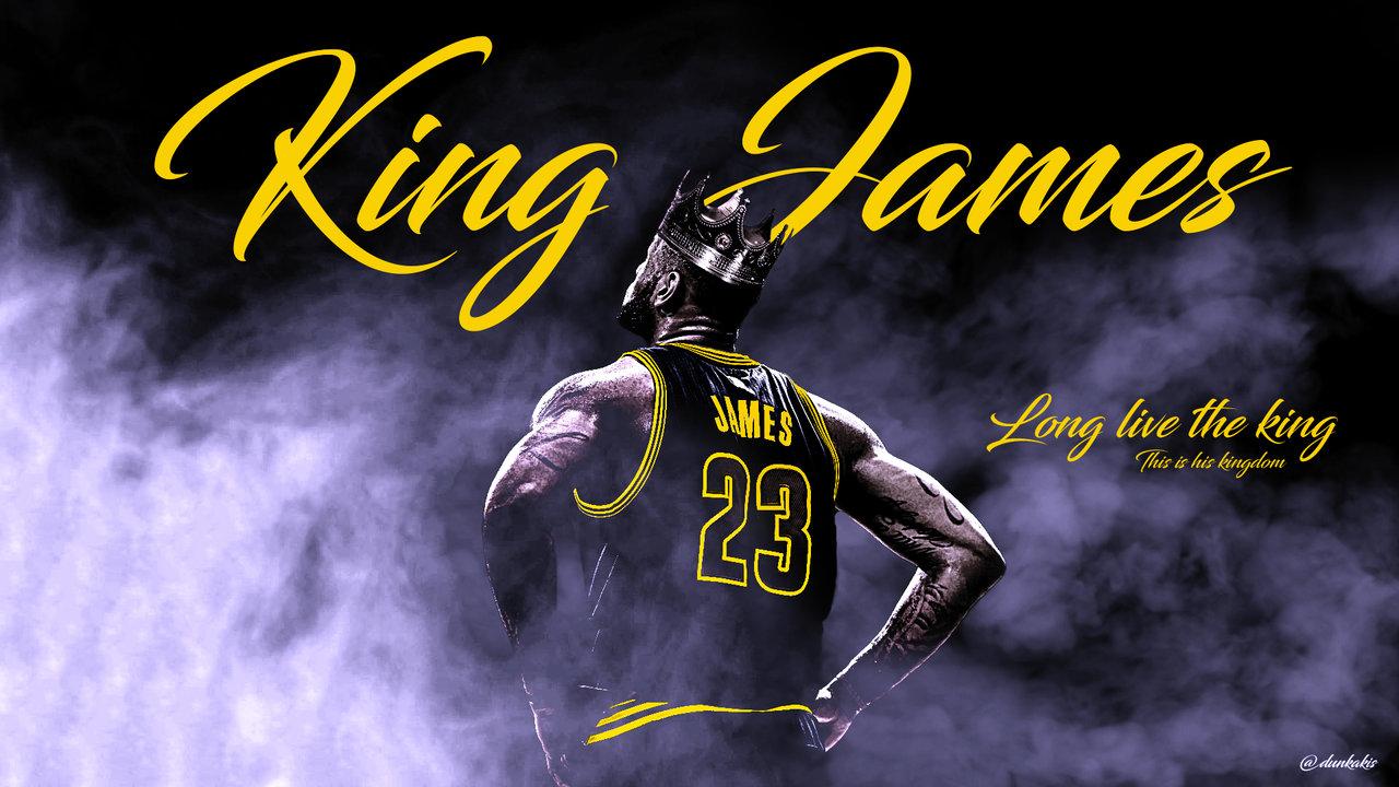 NBA LeBron James Wallpaper by dunkakis 1280x720