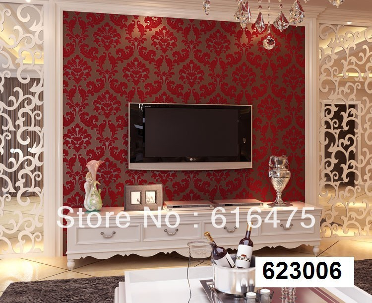 Red Wallpaper For Bedroom 2017 Grcloth 750x610