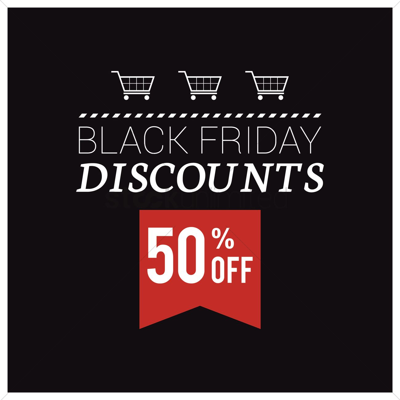 Black friday sale wallpaper Vector Image   1583535 StockUnlimited 1300x1300