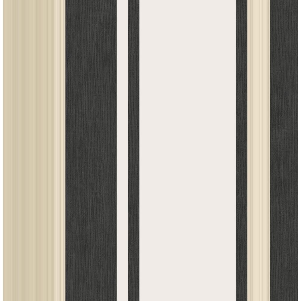 Wilko Manton Signature Stripe Wallpaper Black 50 247 at wilkocom 1000x1000