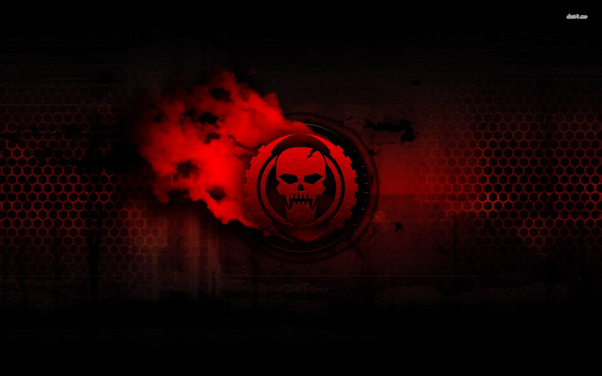 Red skull wallpaper   Digital Art wallpapers   5462 1920x1200