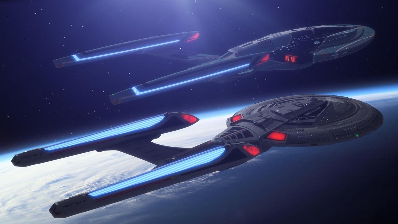 Star Trek Starships Pride Of Starfleet Star Trek 1366x768