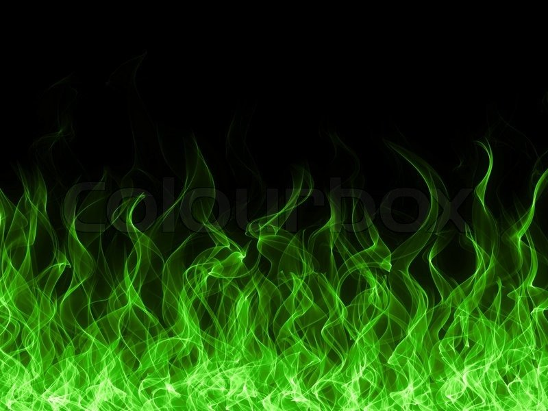 green fire wallpaper - photo #16