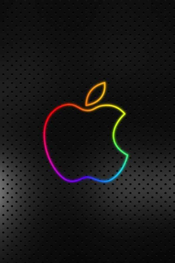 Apple Logo Wallpaper for iPhone 600x900