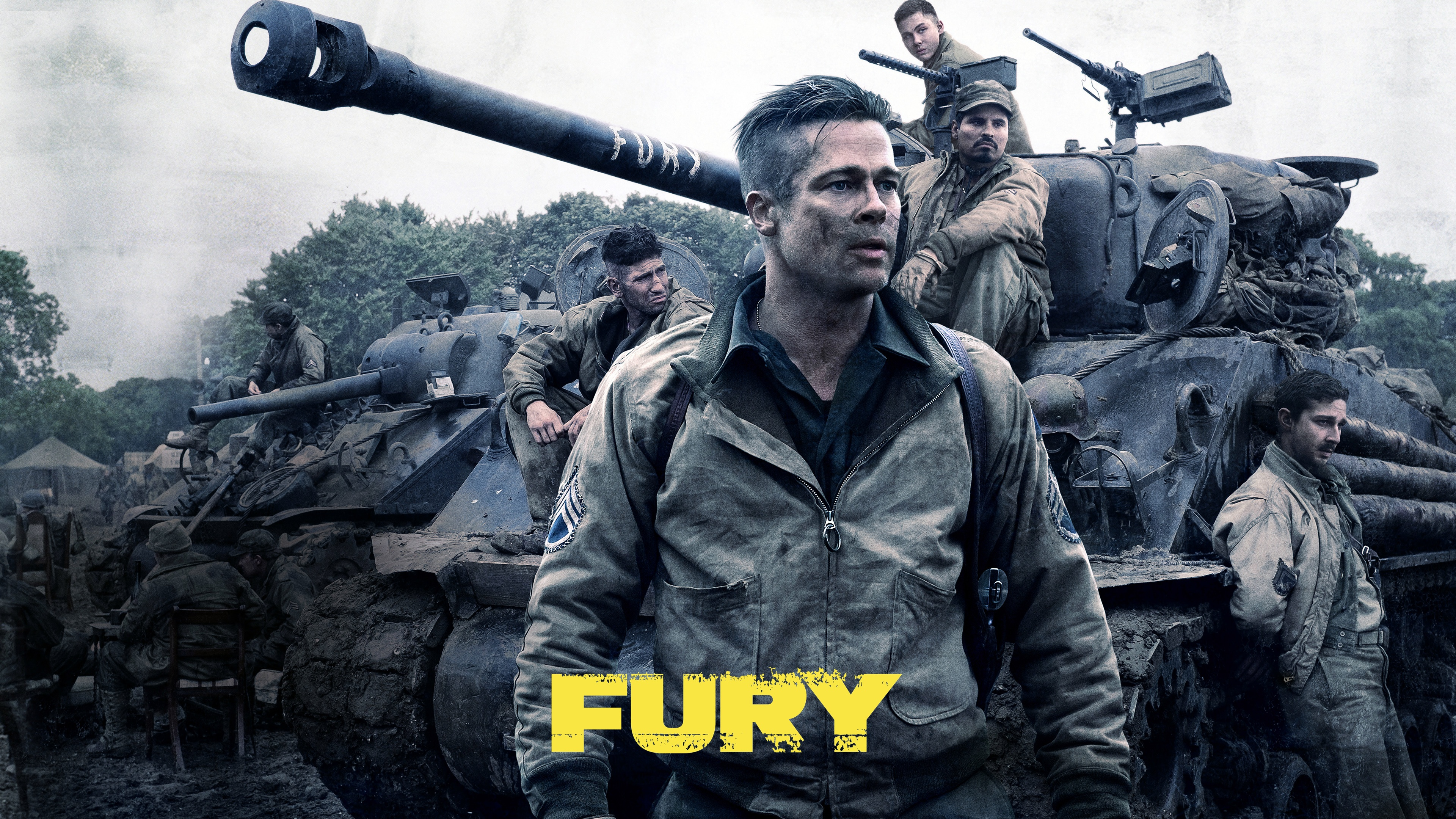 Fury Movie Wallpapers HD Wallpapers 3840x2160