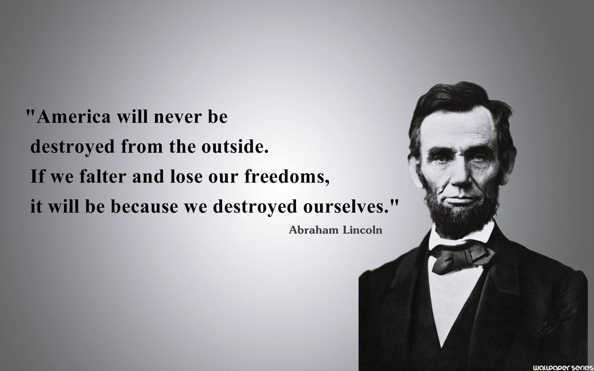 Abraham Lincoln wallpaper 1920x1200 61340 1920x1200