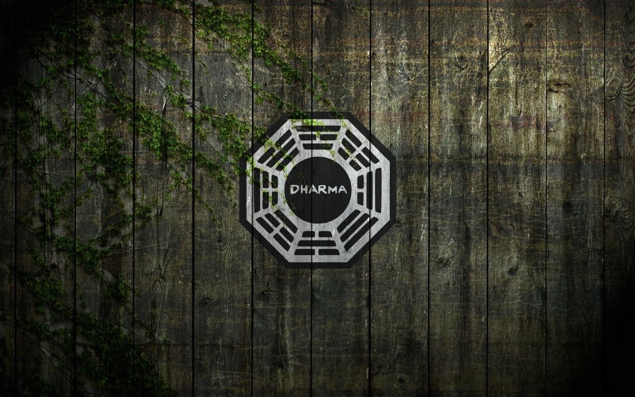 1280x800 Dharma Lost TV Show Desktop PC And Mac Wallpaper
