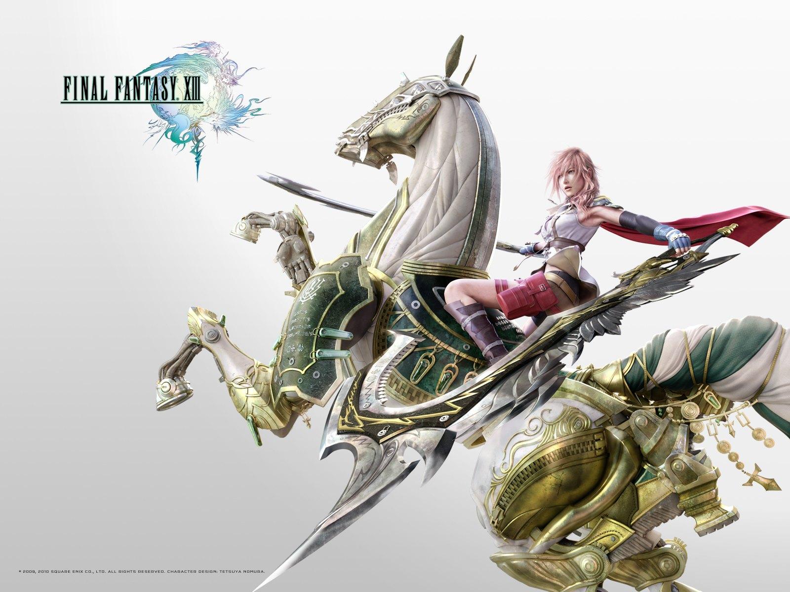 FF XIII Wallpaper   Final Fantasy XIII Wallpaper 32680106 1600x1200