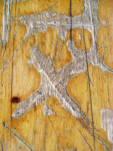 Football Wallpaper Cool Weathered Wood Boards 375x500