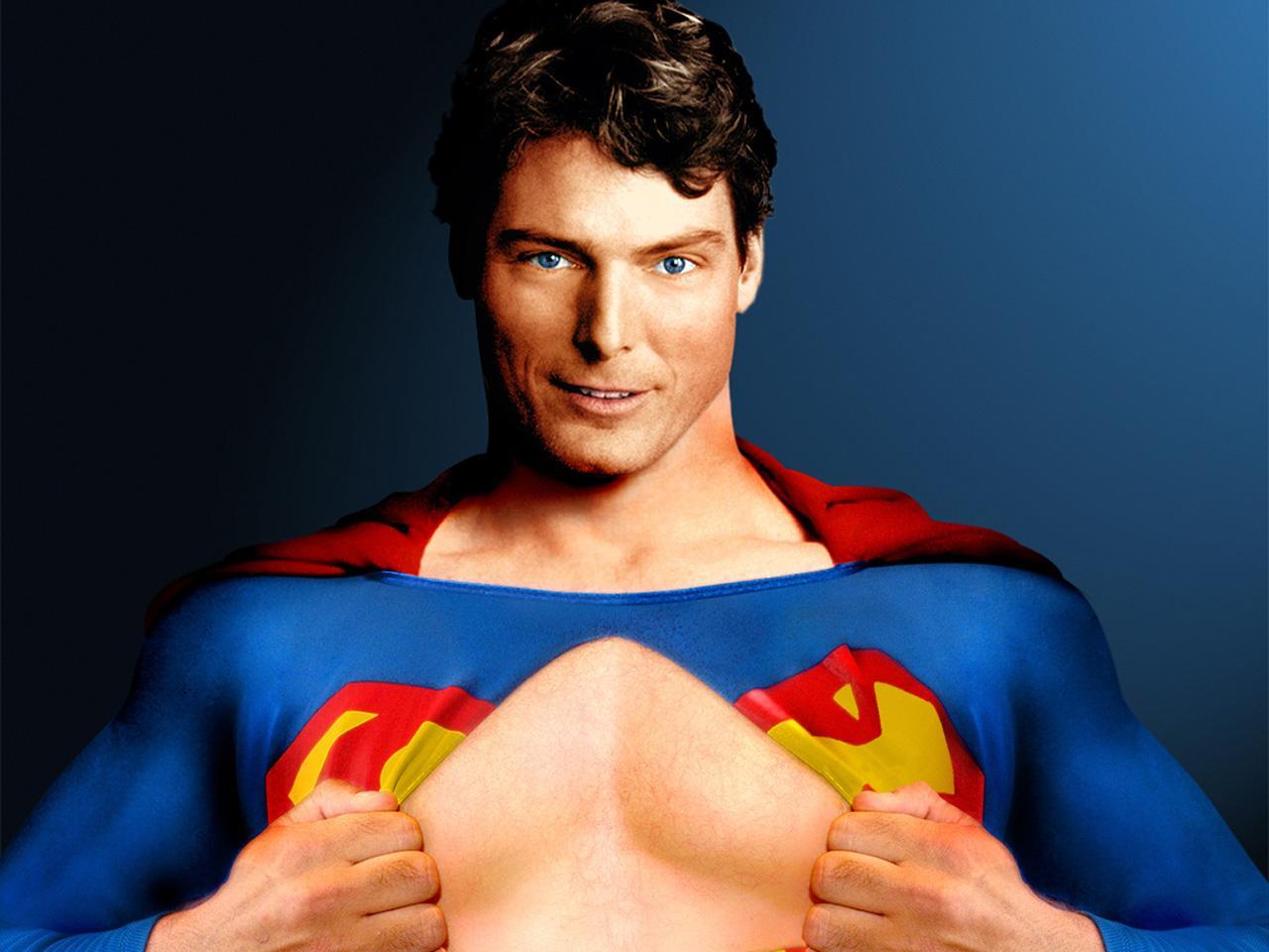 reeve como superman montagem de f wallpaper sobre christopher reeve 1280x960