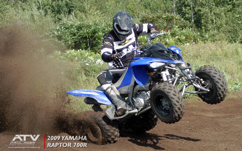 Wallpapers   2009 Yamaha Raptor   ATV Trail Rider 1440x900