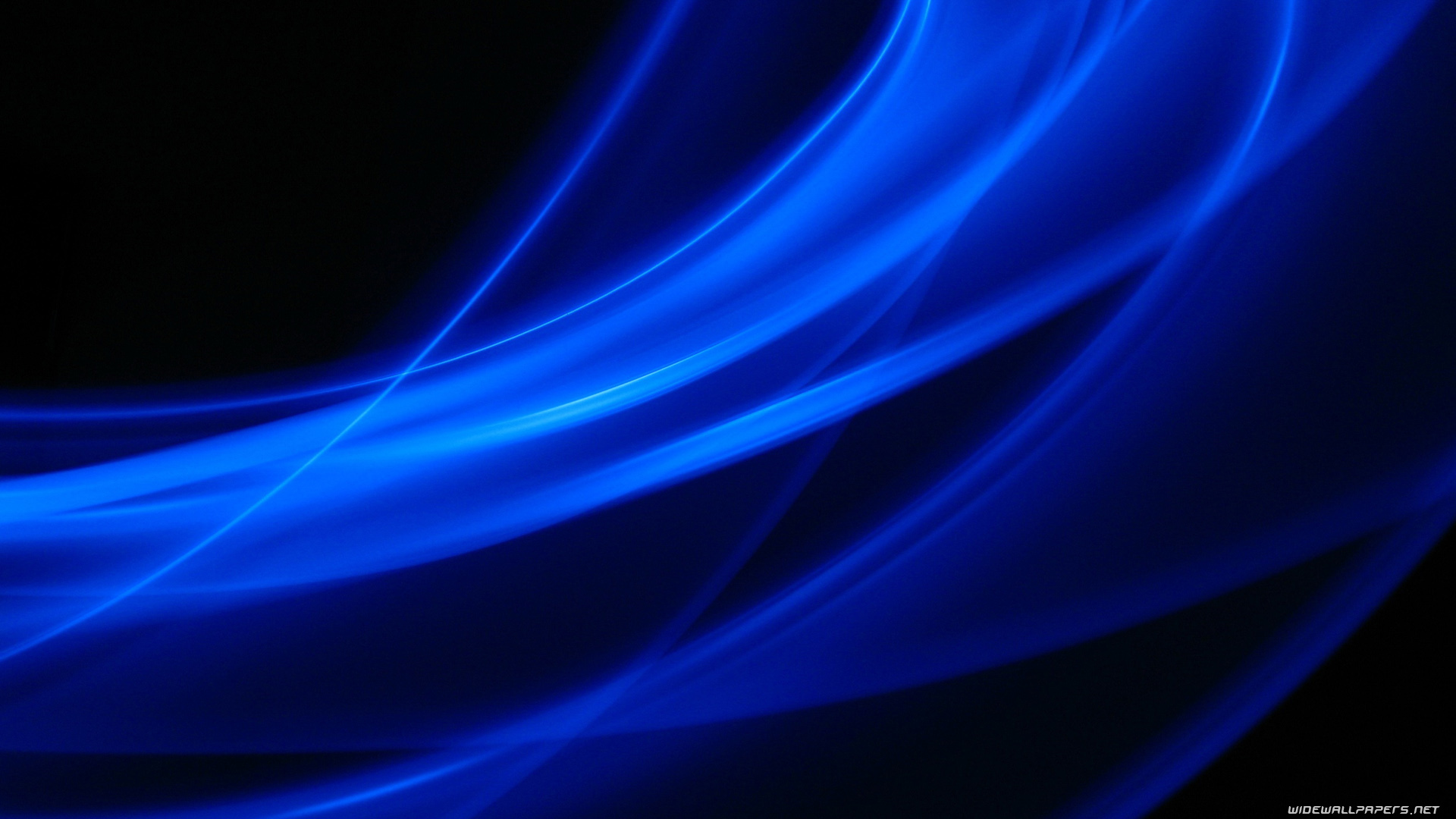 Black and Blue Abstract Widescreen HD Wallpaper 1920x1080