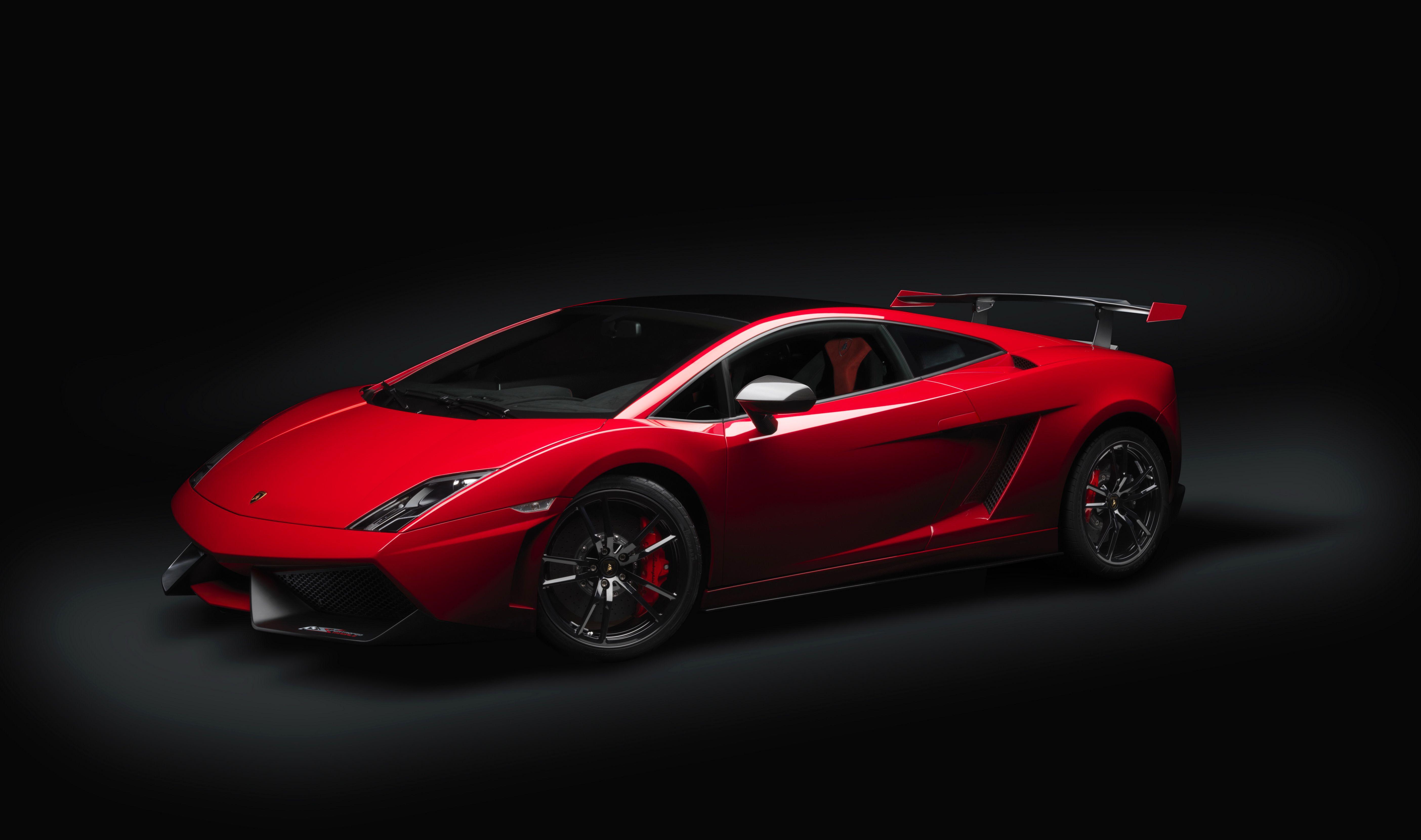 Red sports car wallpaper 5616x3322