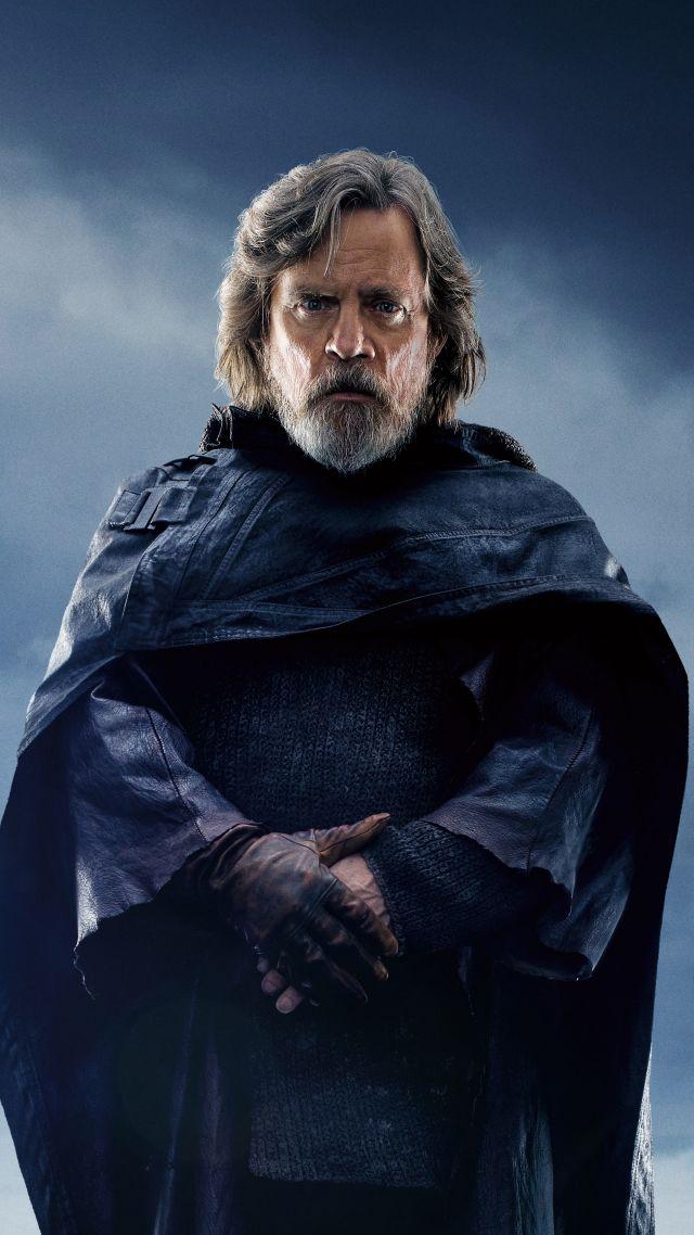 Wallpaper Star Wars The Last Jedi Mark Hamill 5k Movies 16940 640x1138