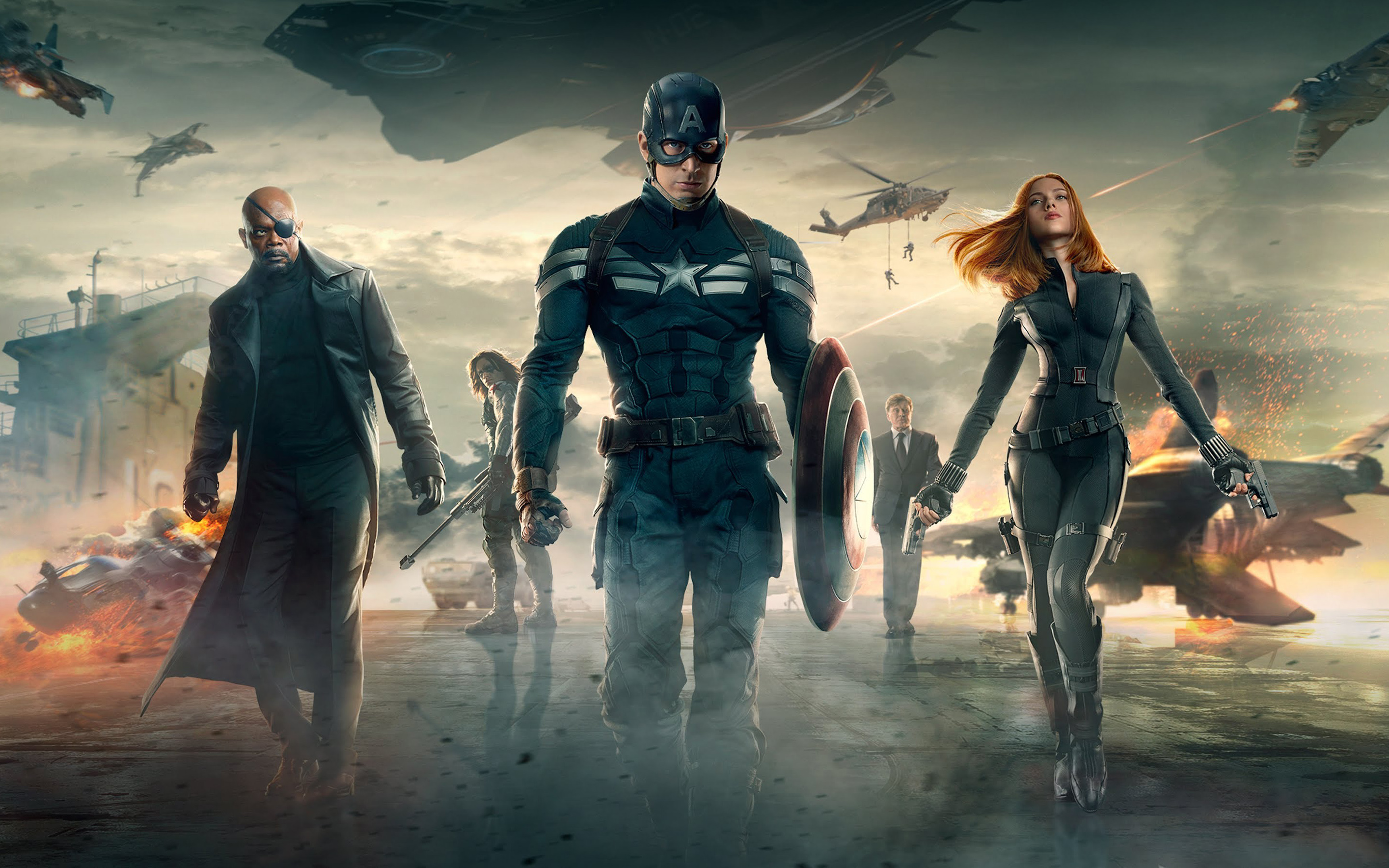 Captain America The Winter Soldier Movie Wallpapers HD Wallpapers 2880x1800