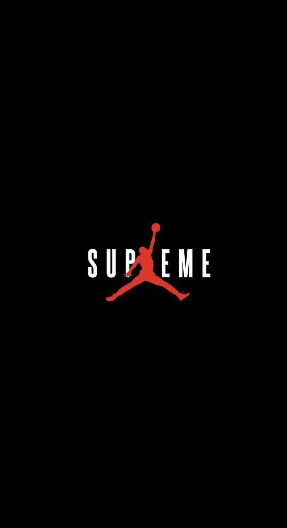 Supreme x Air Jordan wallpaper Pinterest Supreme Air jordan 564x1038