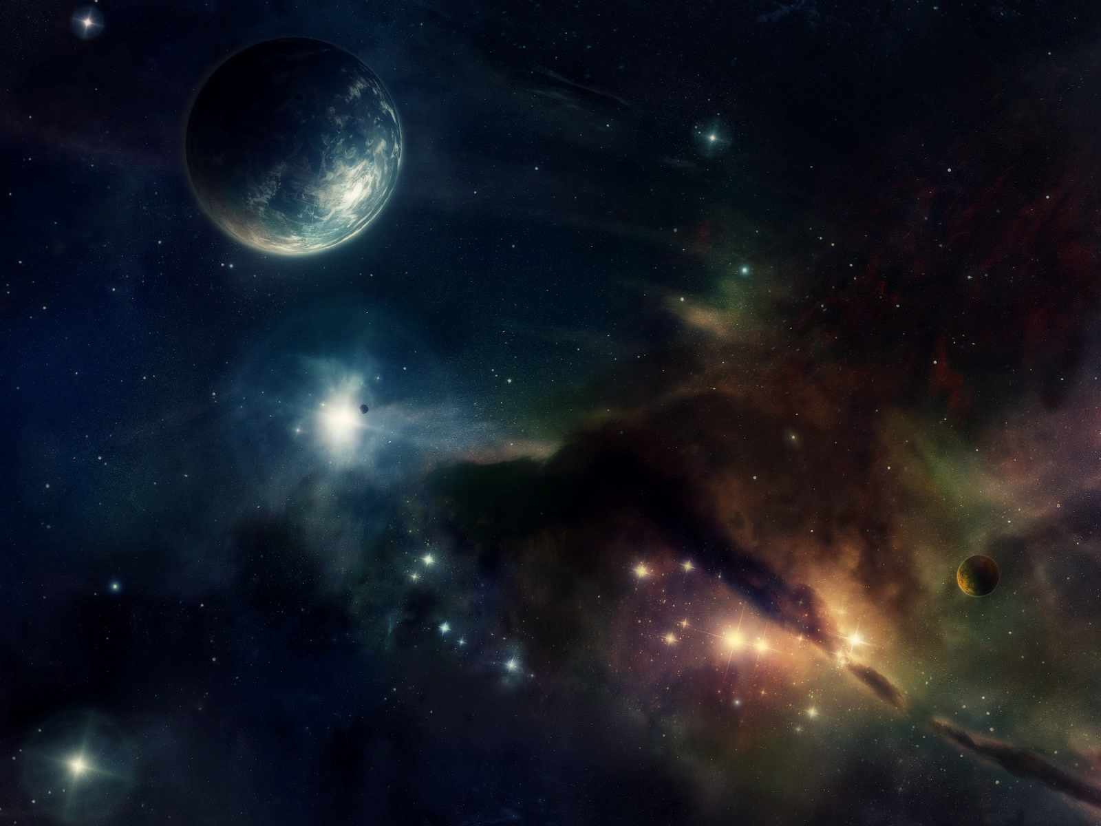 space background 1600x1200
