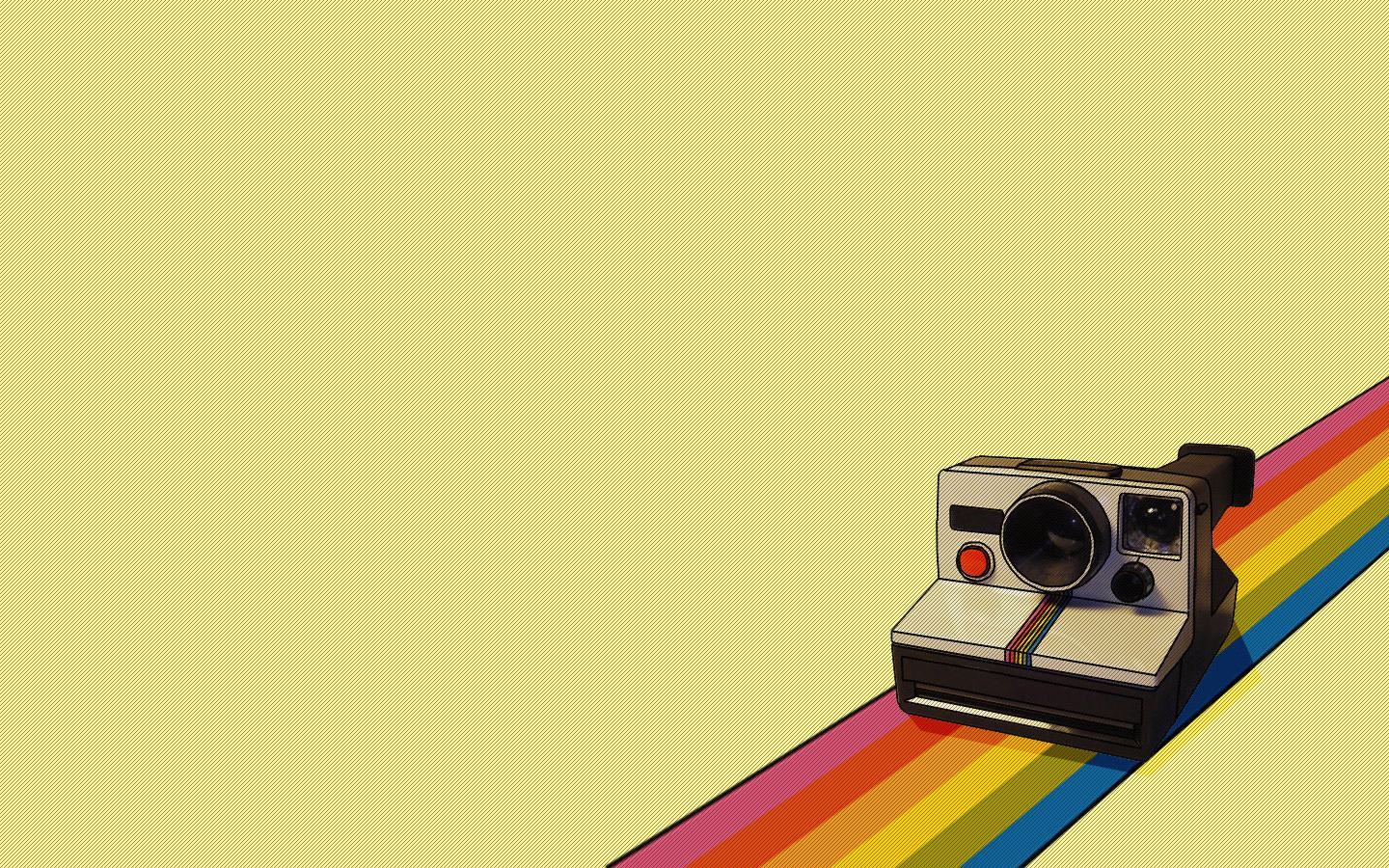 Camera Rainbow Instagram HD Wallpapers Backgrounds 1440 x 900 r 1440x900