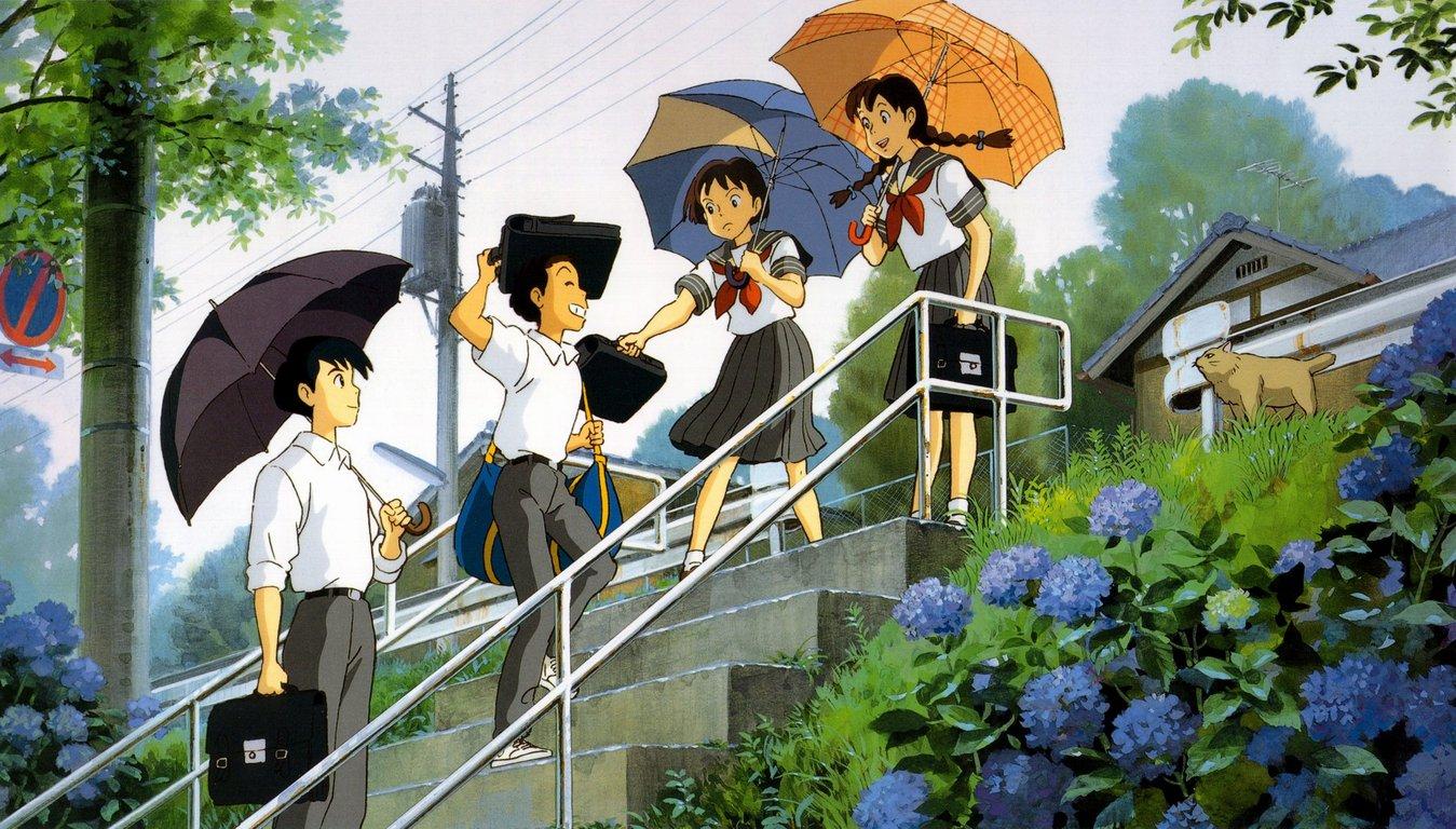 Studio Ghibli Wallpaper 1349x768 Studio Ghibli Whisper Of The 1349x768
