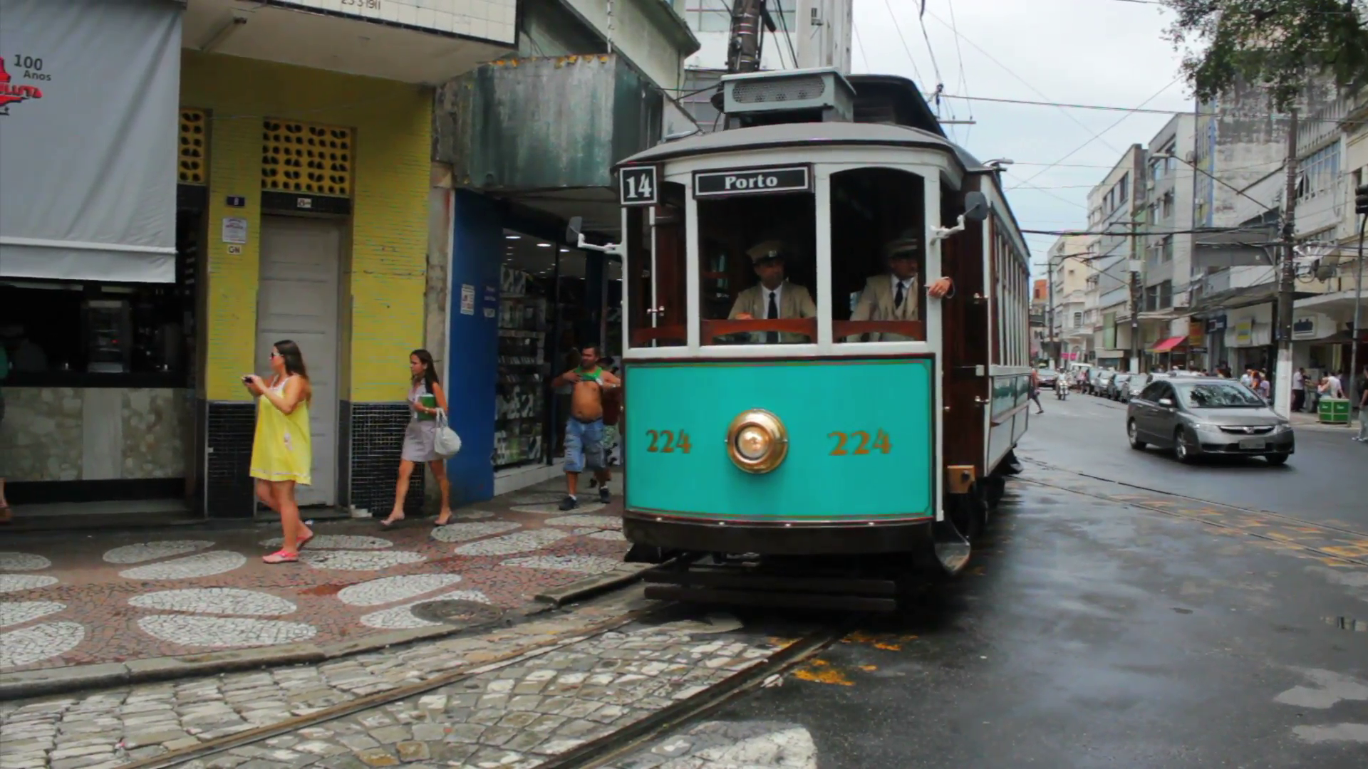 Brazilian Heritage Tramway System city tour of Santos Sao Paulo 1920x1080