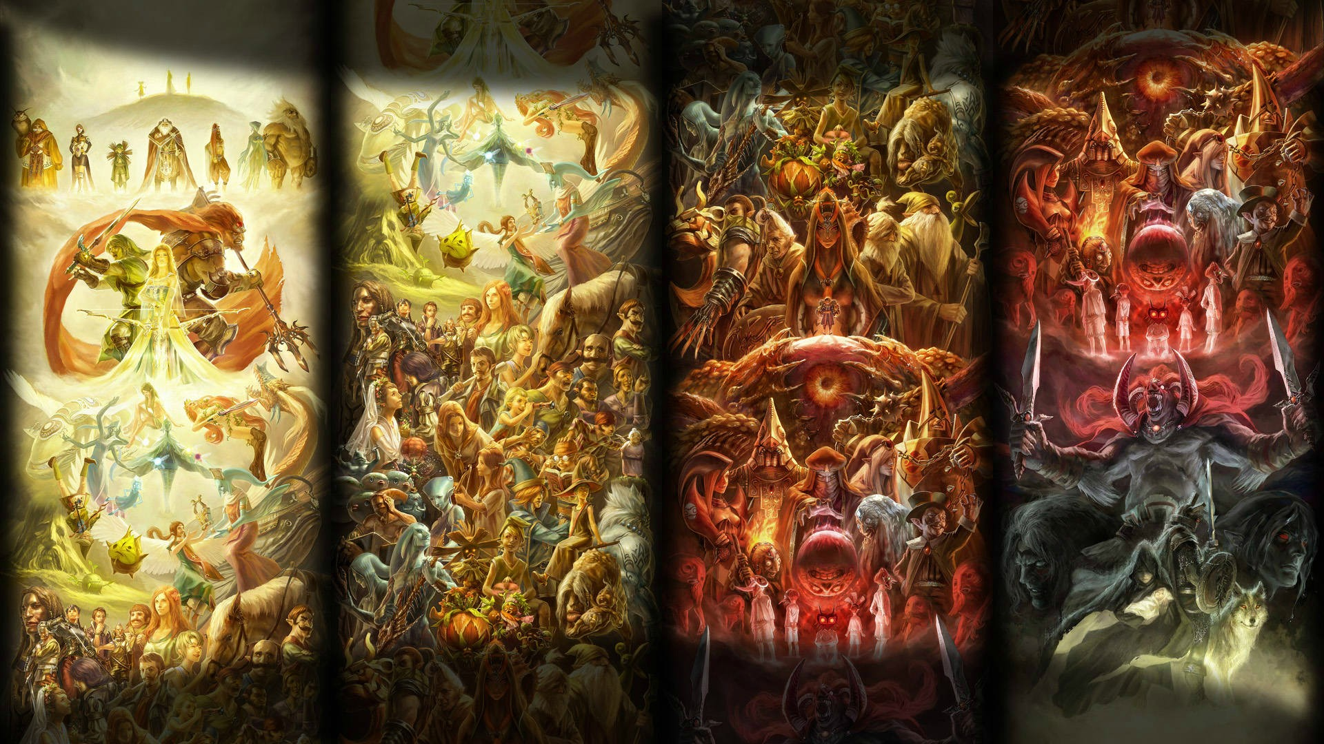 An Awesome Zelda Wallpaper zelda 1920x1080