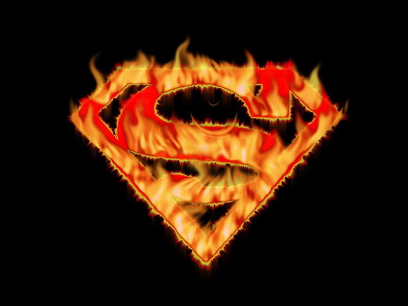 Superman logo Screensaver wallpaper 800x600