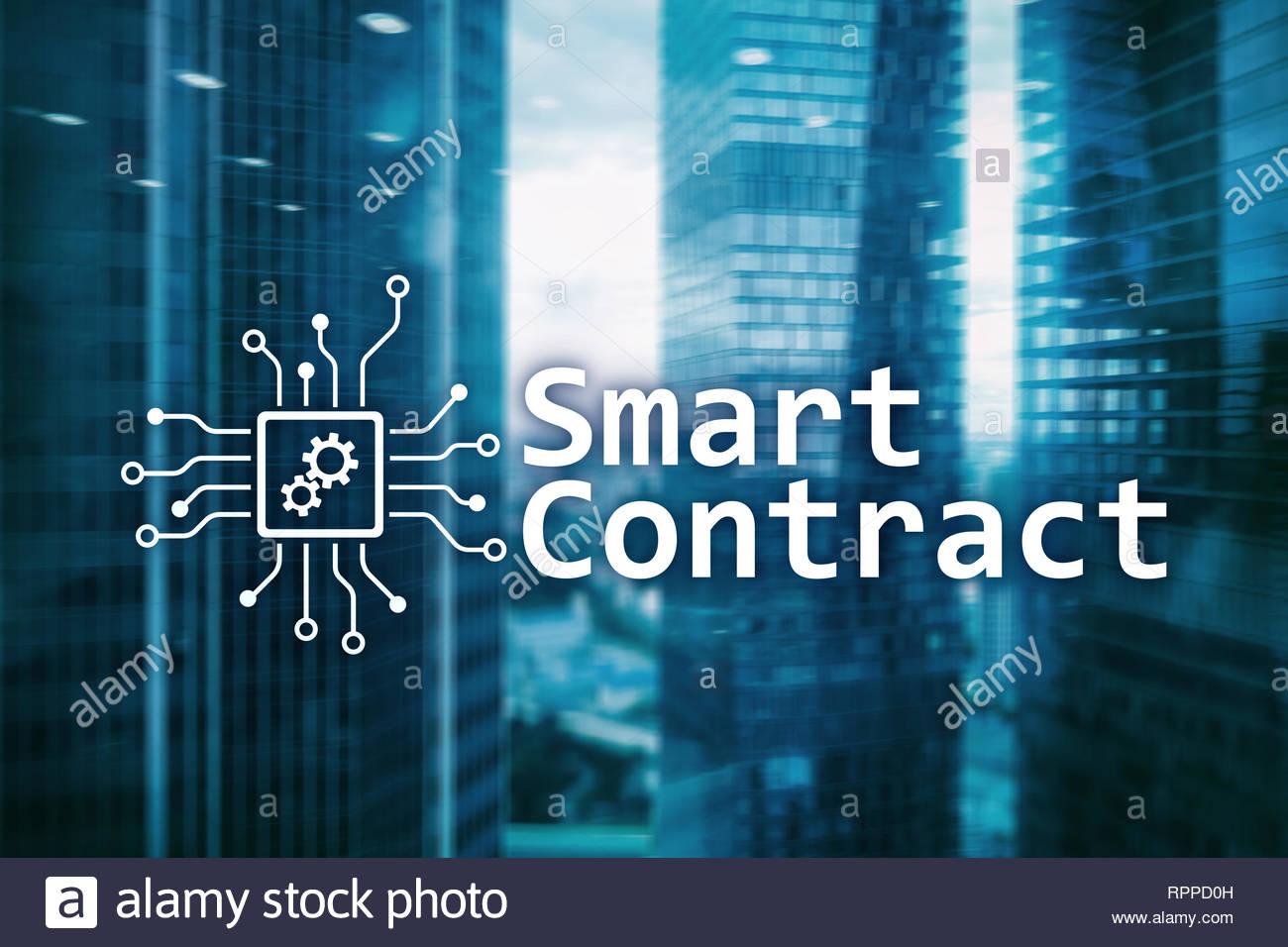 Smart contract blockchain technology in business finance hi tech 1300x956