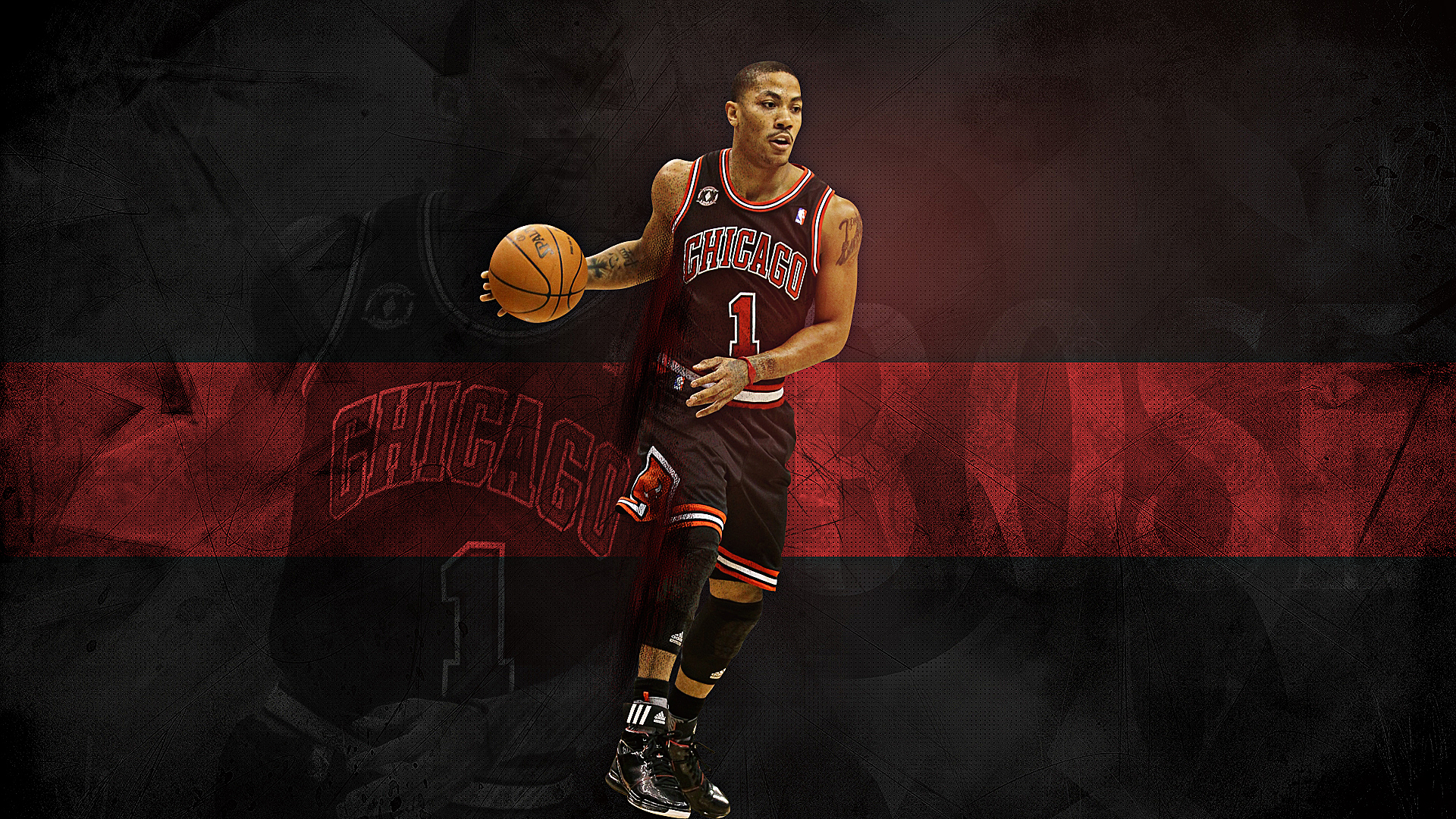 Derrick Rose Wallpapers High Resolution and Quality Download 1920x1080